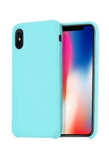 Jacobson iPhone X Sert Silikon Kapak Renkli